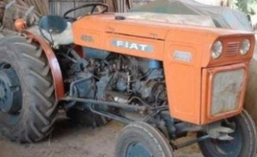 Un hombre falleció aplastado por un tractor en un accidente laboral