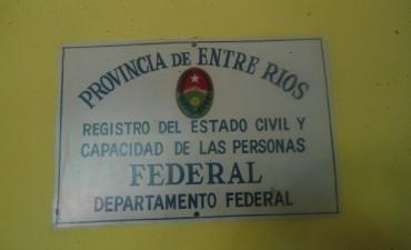 A partir de este lunes se normaliza el horario de atención en el Registro Civil