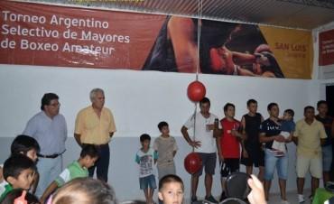 El Club Malvinas ya tiene su sala para la práctica de Boxeo