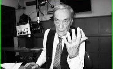 Falleció el locutor y periodista ANTONIO CARRIZO