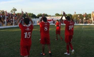 CONTUNDENTE: Las Flores goleó a Congo por 4 a 0