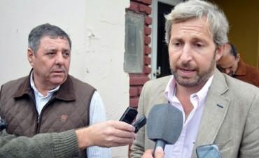 De Angeli y Frigerio se reunieron por temas de Entre Ríos