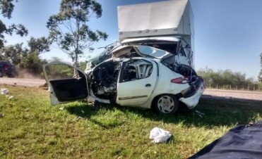 Choque fatal en la ruta provincial N° 2, fallece una persona de Chajari