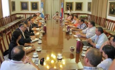 Ministro y Presidente del CGE recibieron a los gremios Docentes con sus demandas