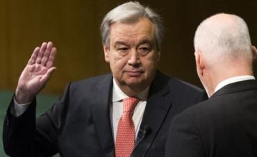 Guterres asumió oficialmente como secretario general de ONU