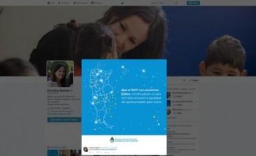 El Ministerio de Desarrollo Social no incluyó las Islas Malvinas en un mapa de la Argentina