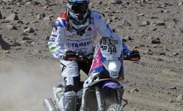De Soultrait se quedó con la primera etapa entre las motos