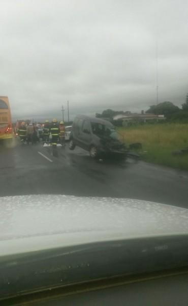 Federalense registro el accidente fatal en la Ruta Nacional N 127
