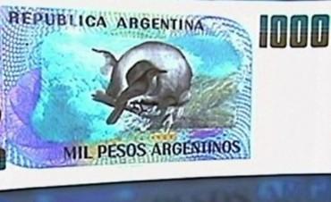 El Banco Central presentará el billete de $1000