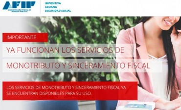 AFIP habilitó su web para que los monotributistas puedan recategorizarse