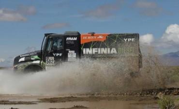 Rally Dakar 2017: gran actuación del argentino Federico Villagra en camiones
