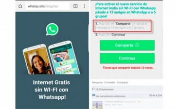 Alertan sobre nuevo engaño en WhatsApp que ofrece internet gratis sin Wi-Fi