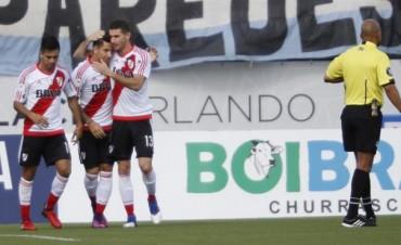 River derrotó a Millonarios de Colombia en su debut por la Florida Cup