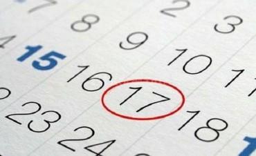 Así quedaría el cronograma de feriados tras el decreto del gobierno nacional