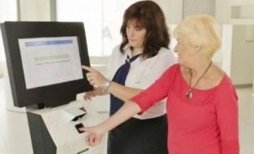 Los jubilados y sus abogados deberán registrar su huella digital