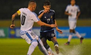 Argentina sufrió una dura derrota ante Uruguay