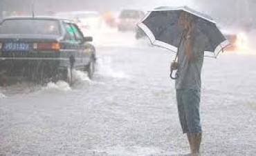 Entre Ríos se verá afectada por un frente de lluvias y tormentas