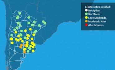 La provincia en alerta por olas de calor