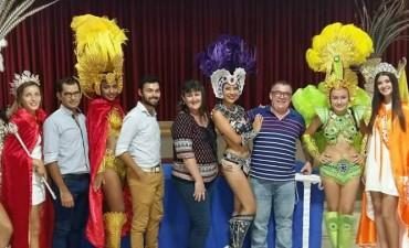 Por iniciativa de la Comparsa Ñandere Ko se presentaron los carnavales federalenses