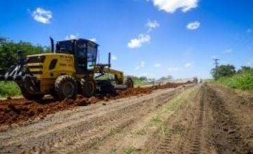 Continúa la recuperación de la ruta 20 desde Villaguay hacia Federal
