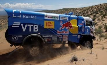 Tras la polémica con Villagra, Kamaz ganó nuevamente en camiones