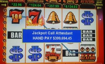 Jubilado apostó en el casino $ 2,25 y ganó casi 400 mil