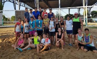 Resultados del Torneo de Beach Voley