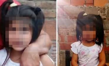 La nena que fue raptada por un motociclista habría sido abusada