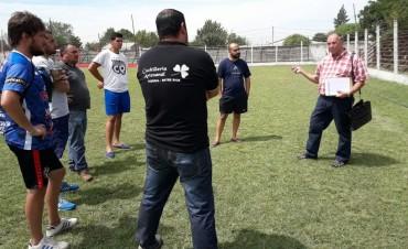 El Estadio del Club Las Flores fue habilitado por el Consejo Federal de Futbol.