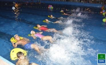 Exitosa Fiesta del Agua en el Complejo Polideportivo