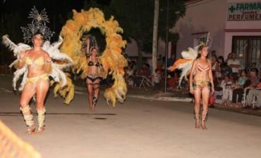 Segunda Noche de carnavales en Sauce de Luna