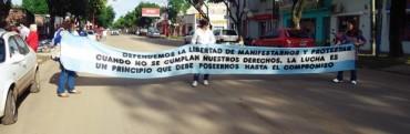 Agmer Federal se moviliza a Plaza Urquiza