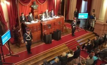 Sergio Urribarri dejo inaugurado el 136º período de Sesiones Ordinarias