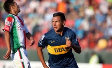 Boca volvió a la Copa Libertadores con un buen triunfo ante Palestino en Chile
