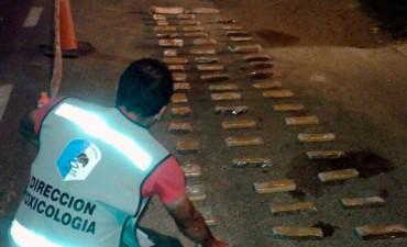 Policía de Entre Ríos incauta droga en La Paz