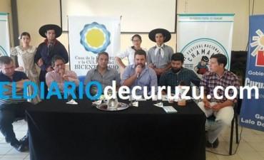 SE PRESENTÓ EL FESTIVAL NACIONAL DEL CHAMAMÉ EN CURUZÚ CUATIÁ