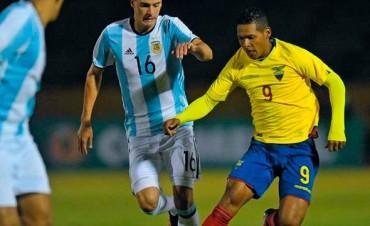 Sub 20: Argentina cayó por goleada ante Ecuador y se aleja del Mundial