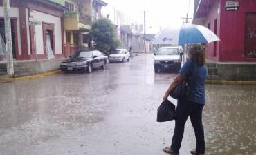 Se renovó el alerta por lluvias y tormentas intensas para Entre Ríos