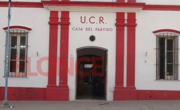 El congreso provincial de la UCR tendría un amplio debate