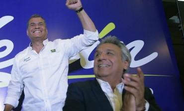 Gana candidato de Correa pero Ecuador se encamina a un balotaje
