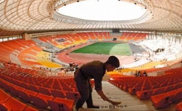 Argentina inaugurará el principal estadio de Rusia 2018