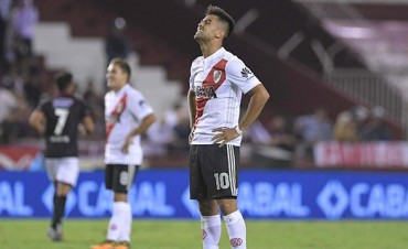 Superliga: Lanús le ganó a River, que tuvo una muy floja actuación