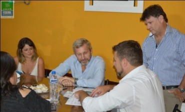 El Intendente de Federal recibió al Ministro Frigerio