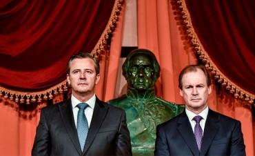Bordet promoverá nueva ley electoral y se refirió a la paritaria docente