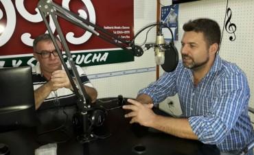 El Intendente G. Chapino destaco el acompañamiento del Festival y el comienzo de obras