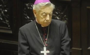 Monseñor Aguer, duro contra Macri por haber dado luz verde a debatir el aborto: