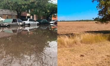 Sequía azota una zona del país y las tormentas a otra: Alerta en 10 provincias