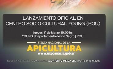 Lanzamiento de la Expo Maciá 2018 en República Oriental del Uruguay.