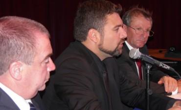 Chapino realizó su primer discurso  en la apertura de Sesiones ordinarias