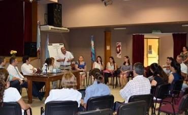Encuentro interinstitucional entre actores sociales y el COPNAF